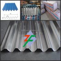 China Shandong Corrugate aluminum roofing sheet