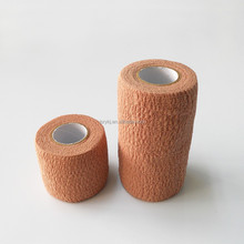 Medical different types brown colour non woven crepe elastic bandage first aid product
