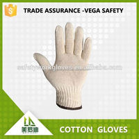 2015 hot selling white cotton beauty gloves