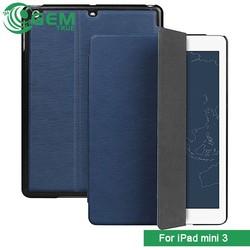 Luxury Retro Leather Smart Case Stand Cover for ipad mini3
