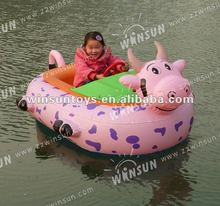 2012 popular motor inflatable bumper boat