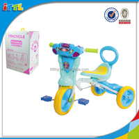 With Music And Light Baby Tricycle Learning riding Tricycle 3 Wheel Baby Tricycle