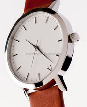 2015 trendy 5ATM waterproof teenage fashion watches strap leather