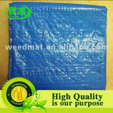 woven tarp ( pe/pp woven flat cloth weed silt fence cloth)