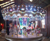 2016 New Design Theme Park Rides Carousel for Sale