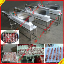 CE APPROVED automatic making machine skewer meat / meat string machine