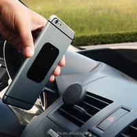 2015 Popluar 360 degree adjustable magnetic car air vent phone holder for car support any mobile phone
