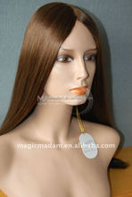 """top quality chemotherapy patient wigs fully hand tied jewish wig,18"""",160gram"""