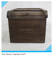 2015 new designed eco-friendly wooden box container for storing rice for sale
