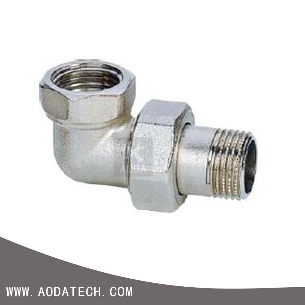 Dongguan cnc lathe processing thread npt brass pipe