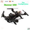 Walkera Runner 250 FPV cross Drone Luxury pack with DEVO 7 with HD Camera with OSD moudle with Goggle 2 glasses .