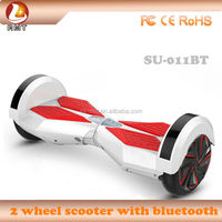 8 inch Max load 120KG High quality portable and bluetooth 2 wheel self balancing electric scooter high quality