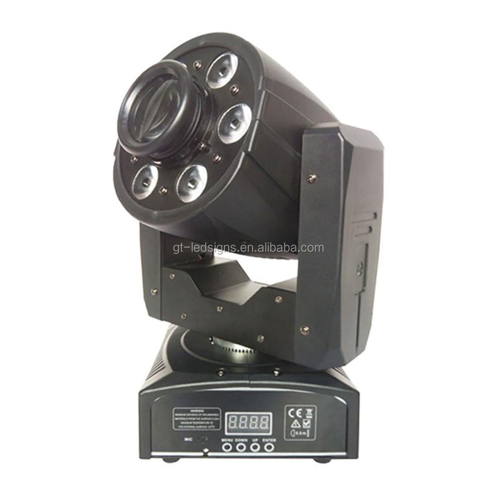 Мини-перемещение головы Dj света LED Перемещение Головы Пятно света, 6*8 Вт RGBW и