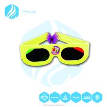 3D paper glasses/3D cheap paper glasses/