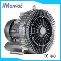 Dongguang supply 4kw 230m3/h 260mbar High pressure Single Stage Air Ring Blower for Hospital Tube System