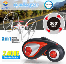 2015 Wall Climbing Mini RC Quadcopter Helicopter With LED Lights