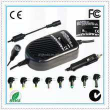 80w Universal Home/Car/Airplane 3 in 1 adaptor for notebook universal adapter