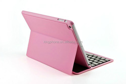 for ipad air ultrathin slim silicon & plastic bluetooth keyboard case
