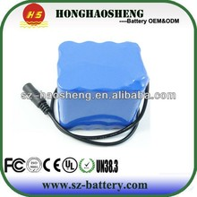 18650 rechargeable lithium ion battery 14.8v 6000mah/6ah 4s3p battery pack Power tools battery