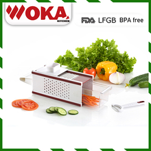 factory best product 4-Sided Hand-held manual vegetable grater