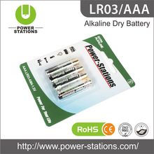 Alkaline Battery LR03 AM4 size AAA
