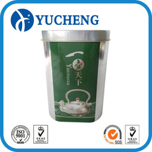 Oval metal food packing tin can