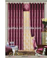 Jacquard Blackout Fabric polyester fabric curtain fabric