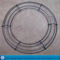 Hebei florist products round wreath frame/round wreath frames