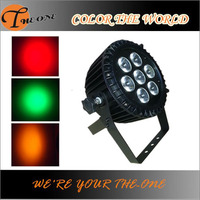 IP65 outdoor RGBWA 5in1 mini dmx rgb outdoor led flood light