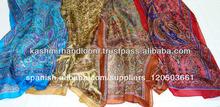 pura bufandas de seda impresa en diseños de <span class=keywords><strong>paisley</strong></span>