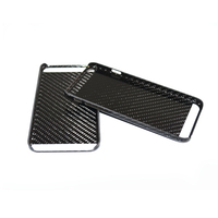 Real Carbon Fiber Cell Phone Shell Carbon Fiber Case For Iphone 6