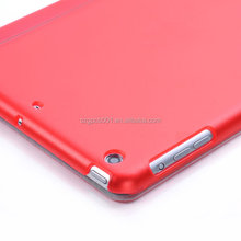 Slim Magnetic Smart cover PU Leather Case with Crystal Hard Back Smart Stand Case Cover for iPad mini 2 3 with retina