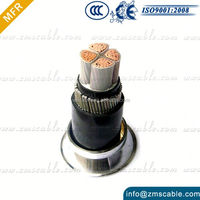 underground electrical armoured cable 4 core power cable 25mm 35mm 50mm 70mm 95mm 120mm 185mm 240mm 300mm power cable