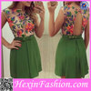1PCS Minimum Quantity Pakistani New Fashion Ladies Dress 2014 Design