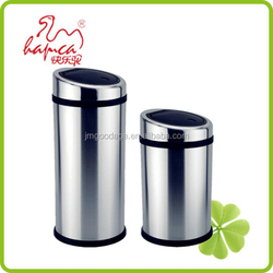 Best selling products 20L-40L Wal-mart Stainless Steel Hand Touch Lid Standing Waste Bin China Supplier With BSCI / TBS2001 3001