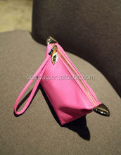 Unique Candy Color Nylon Waterproof Cosmetic Bag