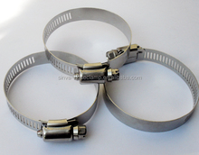 Reliable fast delivery all size Quick release auto parts clips/hose clamp for tube pipe hose clamp made in china