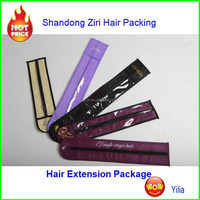 hair extension of plastic bags promotional Bags/ mini garment bags for hair extensions