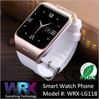New Product WRX-LG118 Android Bluetooth Smart Watch Phone With NFC Waterproof for iPhone 6 & SAMSUNG Galaxy S5