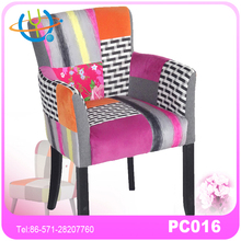fabulous matching set of 4 sold wooden contemporary high back dining chairs