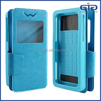 [GGIT] Leather Flip Cover Universal Case for Mobile Phone