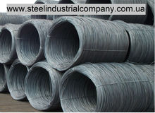 Steel wire rod made of grades: SAE1006, SAE1006B, SAE1008, SAE1010, SAE1010A, diameters from 5,5mm to12,0 mm