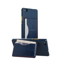 Guangzhou manufacture Ultral slim fashion PU leather hard back case cover for iphone 6