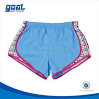 Excellent quality new arrival 2015 custom high cut running shorts