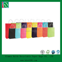 2015 popular colourful paper gift bags