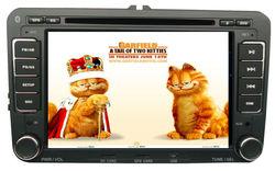 "8""Touch Screen Car DVD GPS For VW GOLF/POLO/PASSAT/JETTA/TRANSPORTER/SEAT LEON Car Audio Stereo Radio GPS iPod BT SWC"