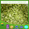 Deep frozen double peeled green broad beans