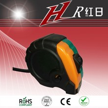 magnetic hook new ABS body with rubber coat measuring tape