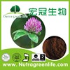 organic Red clover Extract Isoflavones8% 20% 40% Trifolium Pratente L factory outlet high quality