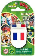 Europe Cup 2016 football flag face paint with cheap price